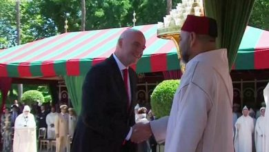 "Photo of رئيس ""الفيفا"" إنفانتينو يحضر احتفالات عيد العرش"