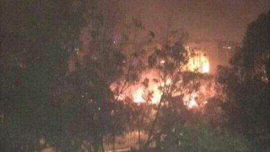 Photo of فيديو..إندلاع حريق بحديقة حي الشرف بأكادير