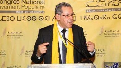 Photo of امحند العنصر أمينا عاما من جديد لحزب السنبلة