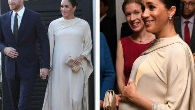 Photo of صور الأميرة ميغان وهي تردي القفطان المغربي