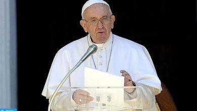 Photo of نص الخطاب الذي ألقاه  البابا خلال مراسم الاستقبال الرسمي الذي خصه به أمير المؤمنين بباحة مسجد حسان بالرباط
