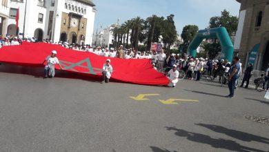 "Photo of حوالي 600 مشارك في النسخة العاشرة من تظاهرة "" الرباط على الدراجة الهوائية "" تحت شعار ""  دراجتي صحتي"""