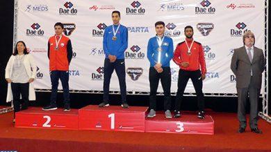 Photo of المهدي السريتي يهدي المغرب ثاني ميدالية ذهبية في بطولة العالم للكراطي للشباب بسانتياغو