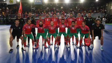 Photo of كأس إفريقيا للأمم داخل القاعة : المنتخب المغربي يفوز على نظيره الغيني الاستوائي (8-1) ويبلغ المربع الذهبي