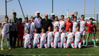 Photo of فريق حسنية أكادير لكرة القدم أقل من 13 سنة يتوج بكأس الدوري الدولي لأكادير