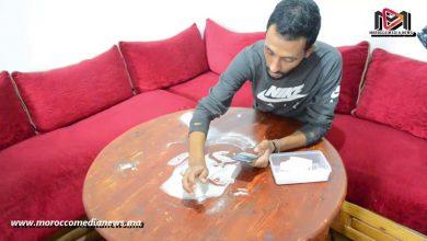 "Photo of فيديو : اللقاء مع الفنان ""إسماعيل إيوي"" ابن مدينة آسفي في فن الرسم بالملح"