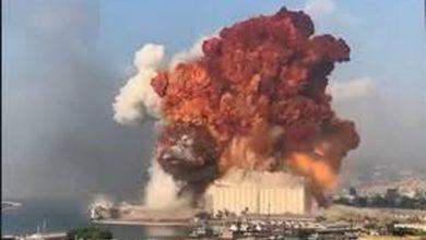 Photo of انفجار عنيف يهز العاصمة بيروت