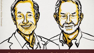 Photo of الأميركيان بول ميلغروم وروبرت ويلسون يظفران بجائزة نوبل للإقتصاد عن عملهما في تطوير نظرية المزادات