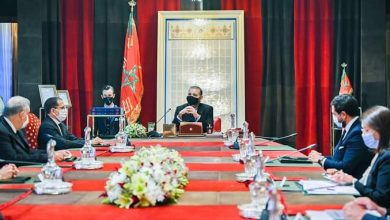 Photo of جلالة الملك يتراس جلسة عمل في إطار تتبع الأوراش الكبرى والمشاريع الاستراتيجية