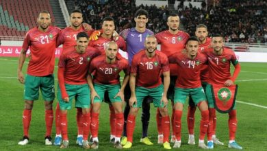 Photo of تصنيف الاتحاد الدولي لكرة القدم (فيفا).. المنتخب المغربي يرتقي إلى المركز ال39