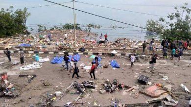 Photo of عاجل .. 384 قتيلا في اندونسيا اثر زلزال أعقبه تسونامي + فيديو مرعب