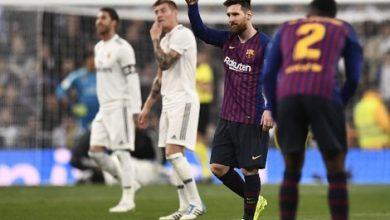 Photo of جماهير ريال مدريد تحتك بمشجعي برشلونة بعد الصفعة الثالثة