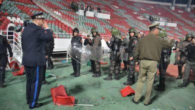 Photo of بالصور : شغب الملاعب يعود من جديد لمباريات الدوري الإحترافي لكرة القدم