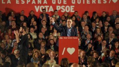 Photo of الحزب الاشتراكي يعوّل على اليسار لتشكيل الحكومة الإسبانية الجديدة