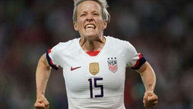 Photo of مونديال السيدات 2019: الولايات المتحدة تلحق بإنكلترا إلى نصف النهائي بثنائية رابينو