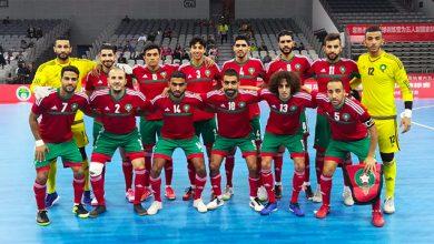 Photo of المنتخب المغربي لكرة القدم داخلالقاعة يتوج بلقب دوري دولي بالصين