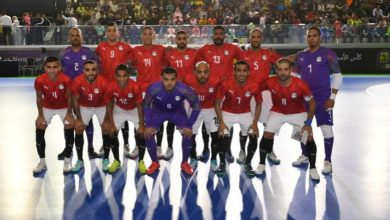 Photo of كأس إفريقيا للأمم لكرة القدم داخل القاعة.. المنتخب المصري ثاني المتأهلين لنصف النهاية