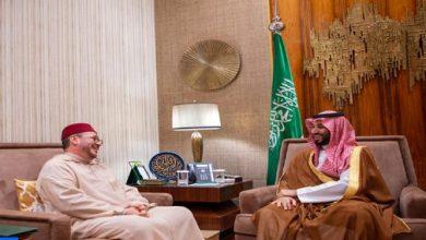 Photo of عالي الهمة ينقل رسالة شفوية من جلالة الملك إلى ولي العهد السعودي