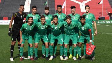 Photo of تأهل المنتخب الوطني للشبان لربع نهاية كأس العرب للناشئين في كرة القدم ( أقل من 20 سنة)