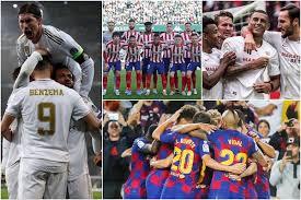 "Photo of رابطة الدوري الإسباني لكرة القدم تعلق البطولة "" على الأقل خلال الجولتين المقبلتين """