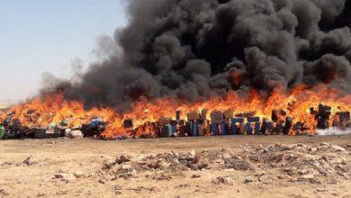 Photo of مديرية الجمارك بأكادير تتلف كمية كبيرة من المخدرات والمواد المحظورة والمهربة بطانطان