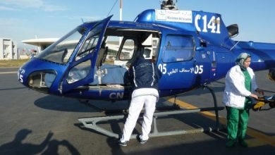 Photo of طائرة مروحية تنقل مريضة في حالة حرجة من بوعرفة إلى وجدة